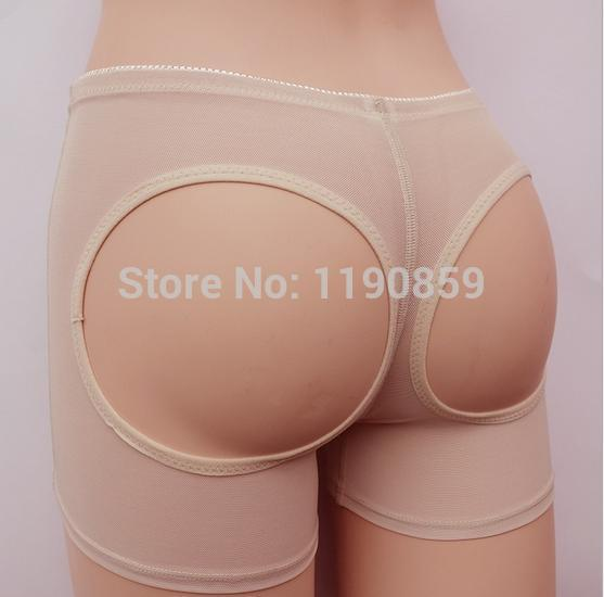 267099d954e33 Free shipping Women Butt Lifter Shaper Bum Lift Pants Buttocks Enhancer  Boyshorts Booty Briefs Plus Size S XXX-in Control Panties from Underwear ...