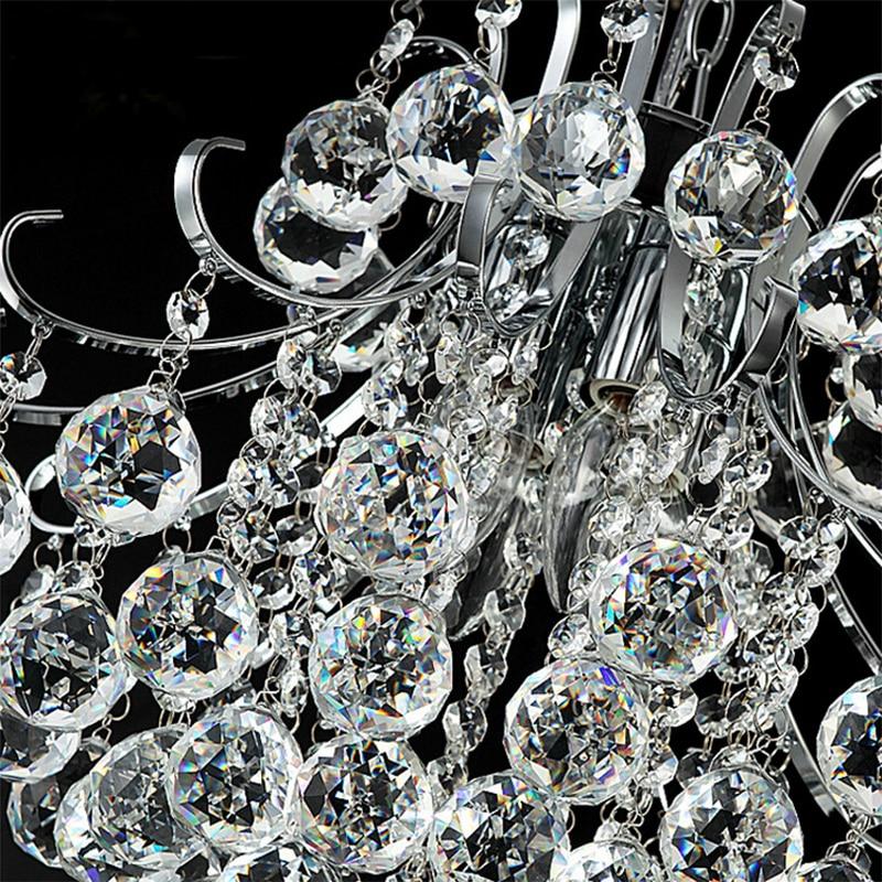 Image 4 - Jmxiuz Luxury Crystal Chandelier Living Room Lamp lustres de cristal indoor Lights Crystal Pendants For Chandeliers Free shiping-in Chandeliers from Lights & Lighting