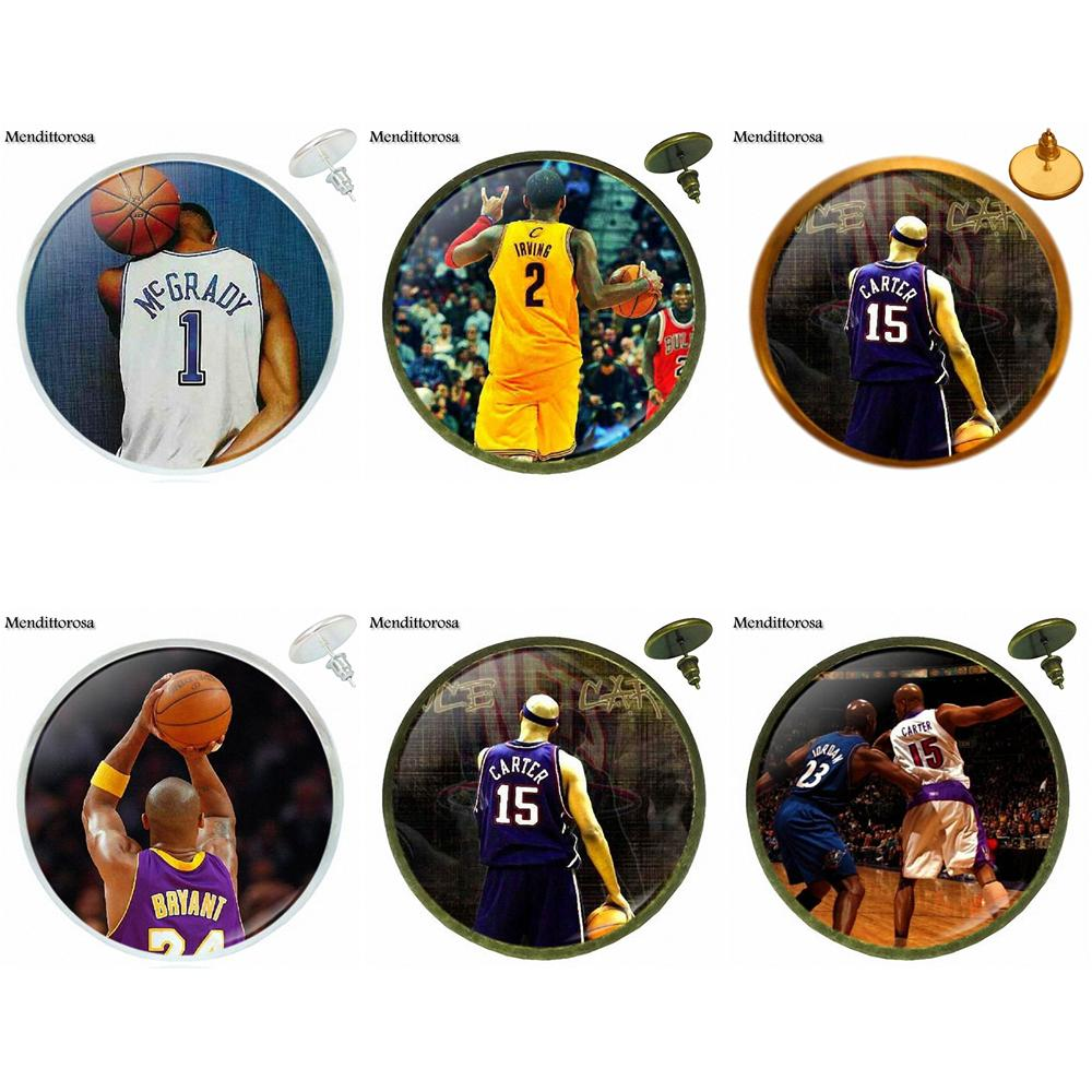 Russell Westbrook Vince Carter Kerry Hot Sale Glass Cabochon Bronze/Silver/Golden Clip E ...