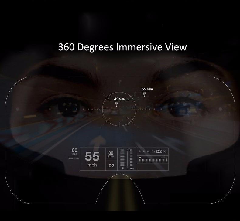 VR Shinecon 2.0 Google Cardboard VR BOX 2.0 Virtual Reality goggles VR 3D Glasses Immersive for 4.5-6.0 inch smartphones 26