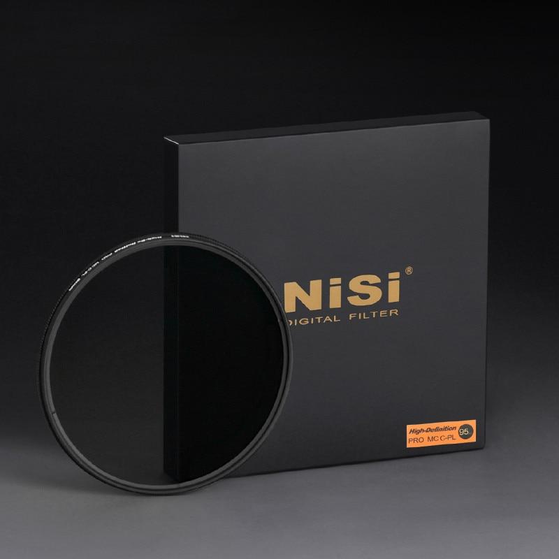 НИСИ 95 мм круговой поляризатор поляризационный фильтр объектива ультра тонкий с многослойным покрытием PRO MC CPL для Canon Nikon Fujifilm Pentax Panasonic - 2