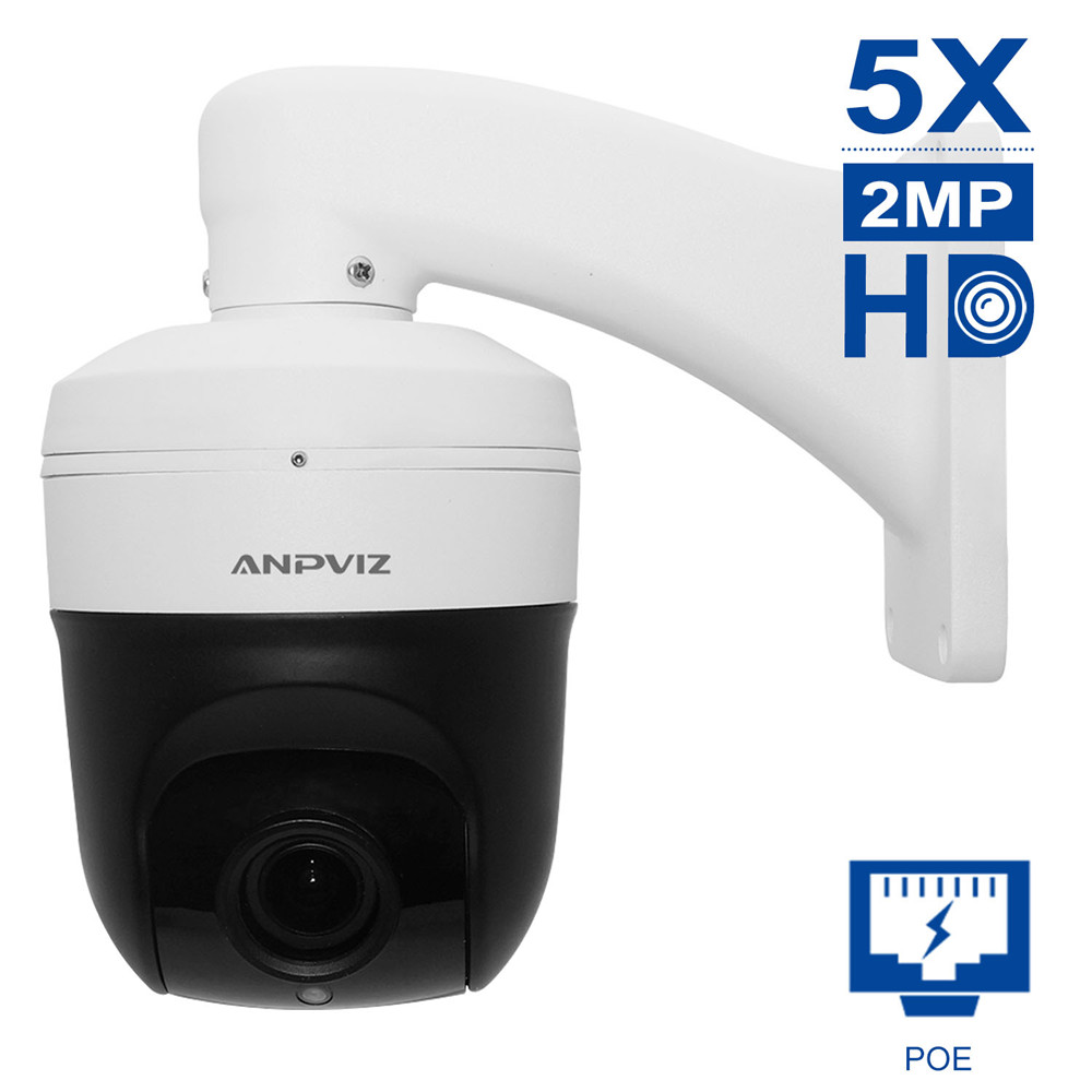 цена PTZ Dome IP Camera 1080P HD 5X Zooming videcam Surveillance Webcam indoor alarm system CCTV Webcam