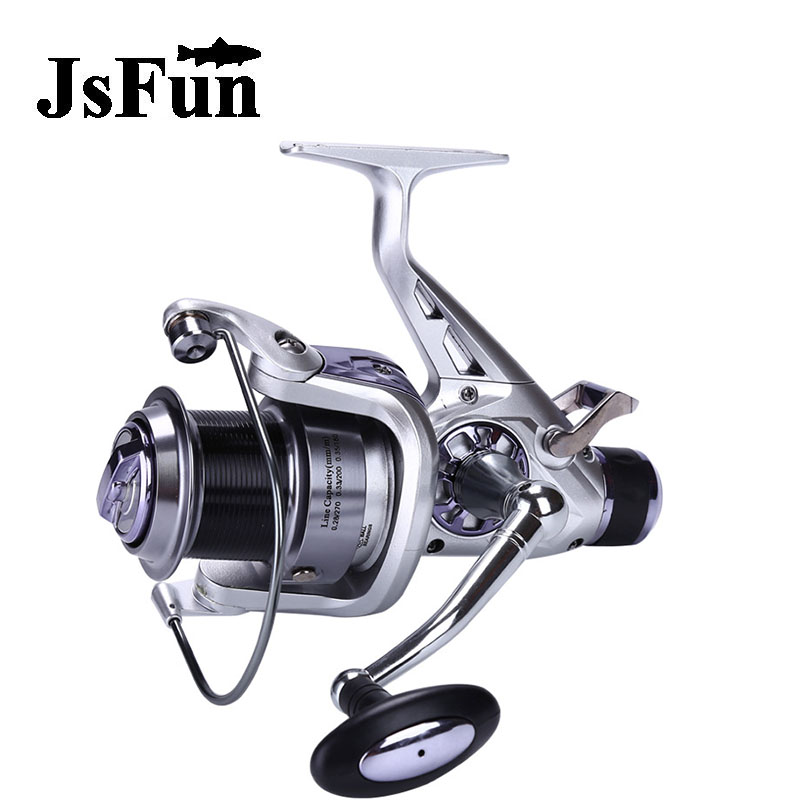 JSFUN 5.2:1 Spinning Fishing ReeL  Distant Wheel 10+1 Ball Bearings KM5000 KM6000 Series Metal Sea Fishing  Vessels fr14 our distant cousins