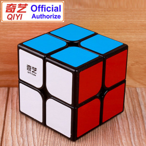 QiYi Magic Cube Professional 2x2x2 Speed Cube Puzzle Neo Cubo Magico Cube Sticker Kubus Adult Education Toys for Children MF2