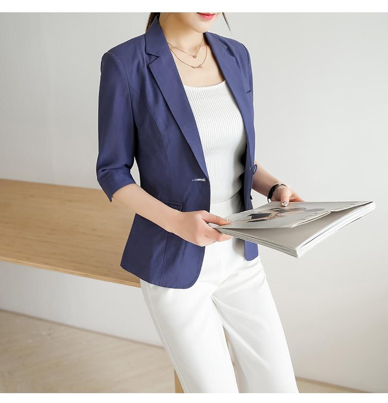 N1911 High Quality J60531 Fashion OL Small Suit Blazer