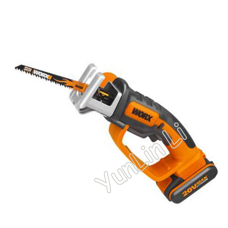 Charging handheld Wood/Steel Saw Reciprocating Saw Household Woodworking Cutting Tools Handheld Electric Saws WG894E|saw tools|saw cutting|saw electric - title=