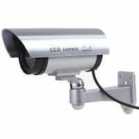 Surveillance Security Camera Wireless Fake Camera Dummy Emulational Camera Bullet Indoor Outdoor With Red Flashing LED
