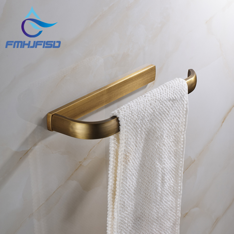 New Arrival Free Shipping Antique Brass Wall Mounted Bathroom Towel Bar Hanger станок д бритья gillette venus breeze 2 кассеты