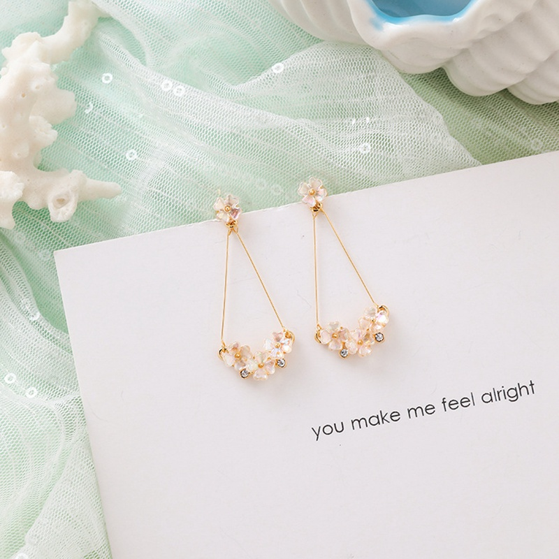 MENGJIQIAO New Korea Japan Elegant Shell Starfish Drop Earrings For Women Sweety Simulated Pearl Pendientes Girl Party Jewelry 28