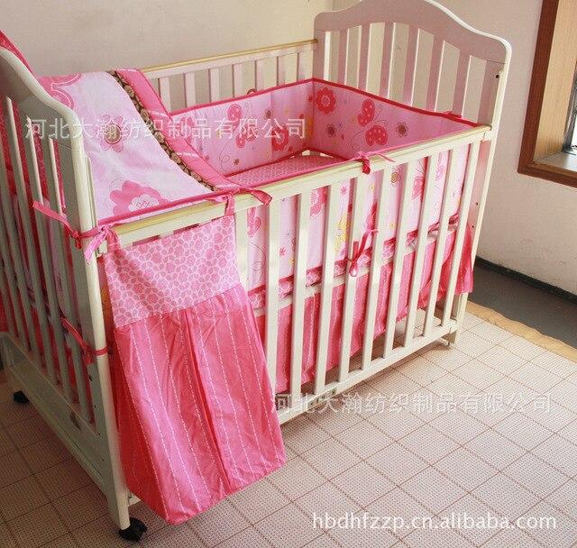 Promoción! 5 unids niño juego de cama de bebé, buena calidad baratos ...