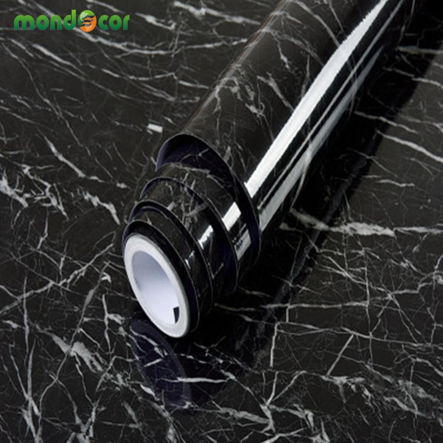 preto grao de madeira auto papel de parede adesivo para armarios de cozinha bancadas de marmore