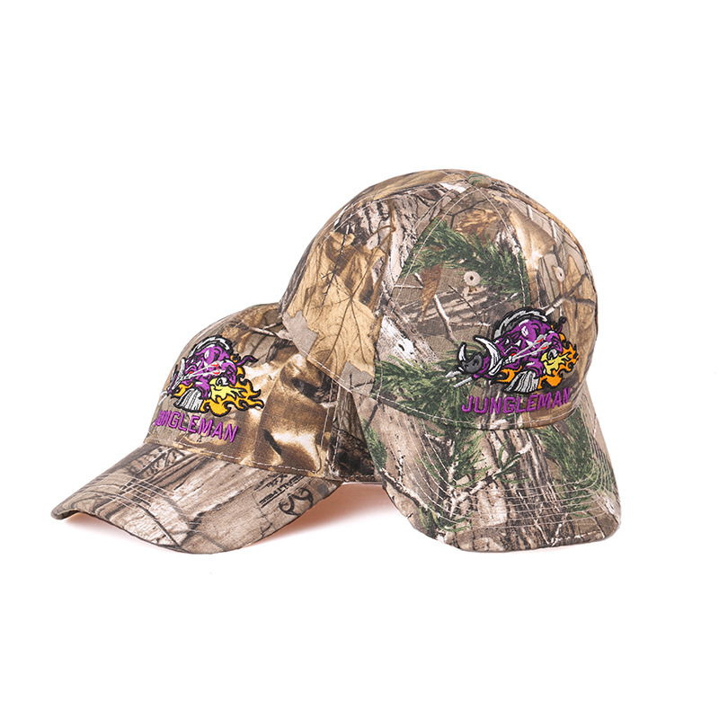 JUNGLEMAN Fire Pig bionic camouflage hunting fishing outdoor recreation cotton baseball cap