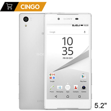 Sony Xperia Z5 E6683 Original Unlocked Mobile Phone 4G LTE Dual Sim Android Octa Core 3GB RAM 32GB ROM 5.2 Inch 23MP Camera