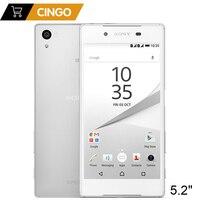 Sony Xperia Z5 E6683 Original Unlocked Mobile Phone 4G LTE Dual Sim Android Octa Core 3GB