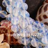 Fashion Trendy 6MM Sri Lanka Natural Opalite Round Moonstone DIY Loose Beads Accessory Parts 15.5 AAA+++ ED132 WHOLESALE PRICE