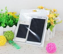 18*26cm White/Clear Self Seal Zipper Plastic Retail Packaging Bag for clothes(China (Mainland))