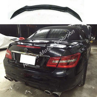 Rowen style Carbon fiber rear trunk spoiler wing for Mercedes Benz W207 Coupe 2010~2015
