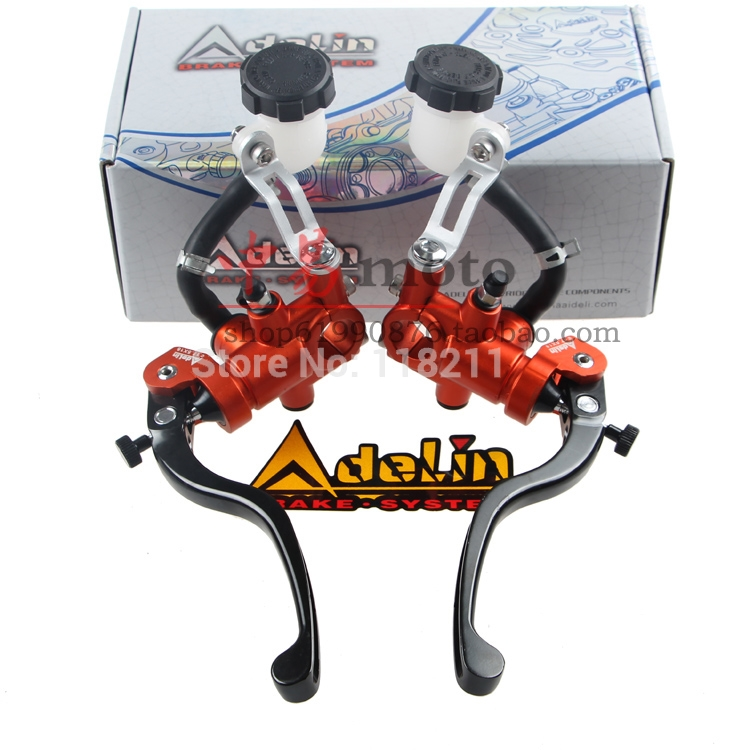 Universal  16mm 17.5mm 19mm Adelin PX1 PX 1motorcycle brake clutch pump master cylinder lever handle For Yamaha Kawasaki Suzuki keoghs real adelin 260mm floating brake disc high quality for yamaha scooter cygnus modify