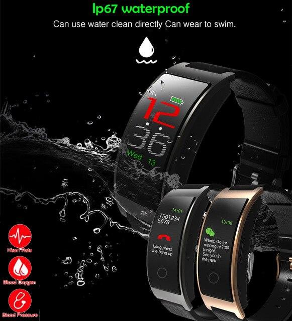 2018 CK11C Smart Armband band blutdruck Herzfrequenz Tracker Passometer CK11S Sport Fitness Bluetooth Smart Armband