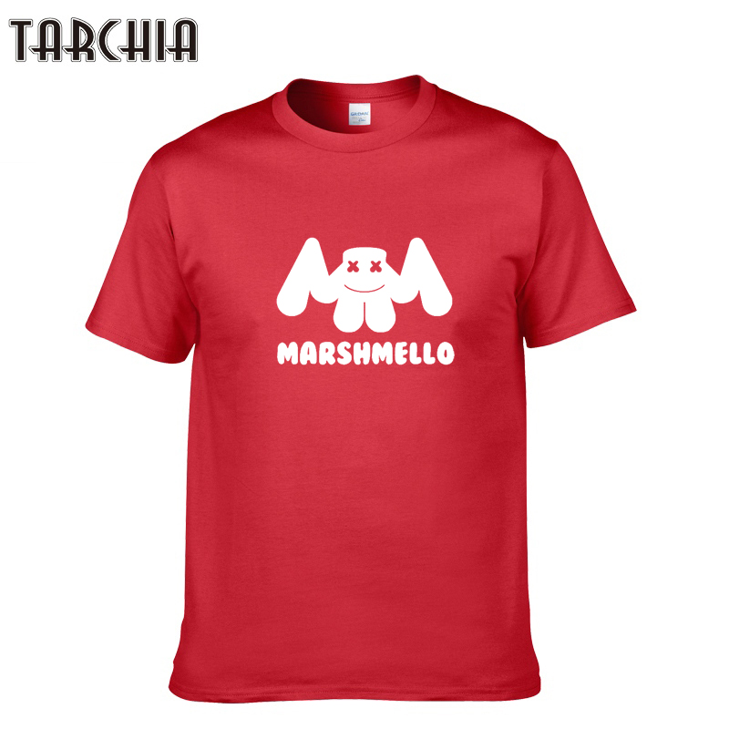 TARCHIA Brand Summer Print Fashion 2018 Men's T Shirt Cotton Short Sleeve O-Neck Swag Men T-Shirt Casual Tops Tees Homme