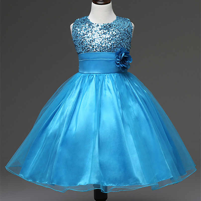 Me, black and blue flower girl dresses join. And