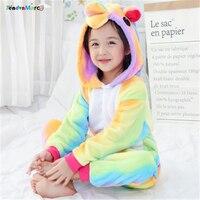 New Year S Costumes Unicorn Children Kids Pajamas Unisex Cosplay Animal Costume Onesie Nightwear Stitch Panda
