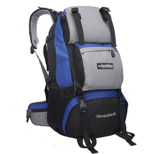 E1141 Camping Hiking Man and woman outdoors backpack camping bag sports hiking bag Whole sales