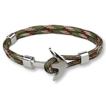 Bracelet Ancre Kaki