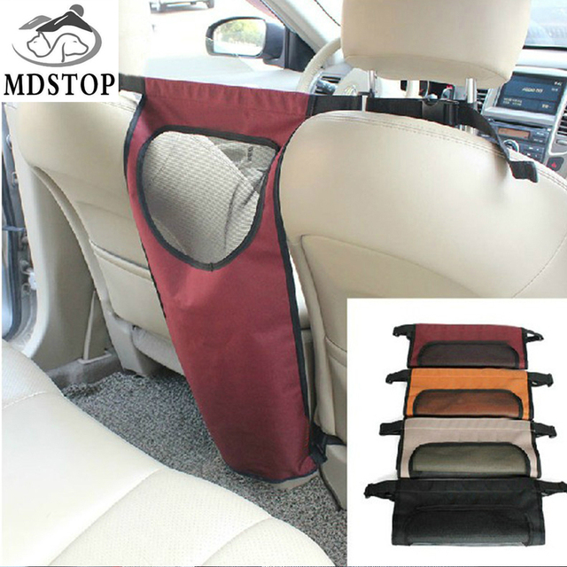 MDSTOP Vehicle Pet Back Seat Car Dog Barrier Cat Car Fences for Truck SUV Travel Accessories Mesh Gate for Backseat Dog Safety