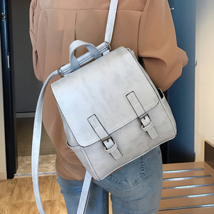 Image 1 - New Designer Fashion Women Backpack Soft Multi Function School Bag Backpack Small Backpack Female Ladies Shoulder Bag Girl Purse