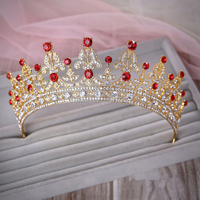 Luxury Wedding Bridal Crystal Tiara with Rhinestones