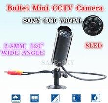 waterproof  Mini CCTV CAMERA  8PCS IR 940nm No red storm Nightvision Sony