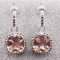Morganite 925 Sterling Silver Earrings TE453