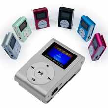 OcioDual-Minireproductor MP3 con pantalla LCD y radio FM, reproductor de Aluminio hasta 32Gb, Micro SD, Lector de Metal