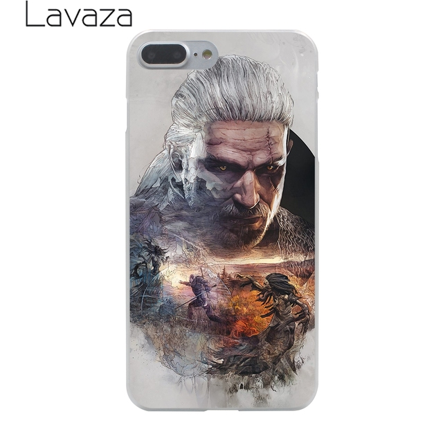 The Witcher Wild Hunt Hard Phone Case for iPhone