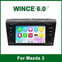 Car DVD Video Player GPS for Mazda 3 2004 2005 2006 2007 2008 2009 with Radio Bluetooth support Ipod Wifi 3G TV