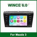 Reproductor de DVD del coche GPS para Mazda 3 2004 2005 2006 2007 2008 2009 con la Radio de Bluetooth Ipod de la ayuda Wifi 3G TV