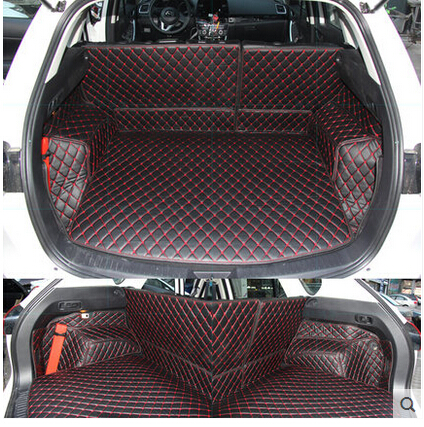 Good quality! Special trunk mats for Mazda CX-5 2016 waterproof cargo liner mats boot carpets for CX5 2015-2011,Free shipping