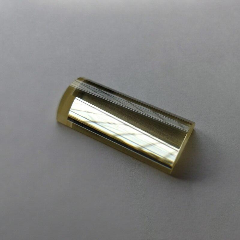 1PC 40x20mm ZF62 verre optique focale 10.85mm Plano convexe lentille de condensation lentille cylindrique
