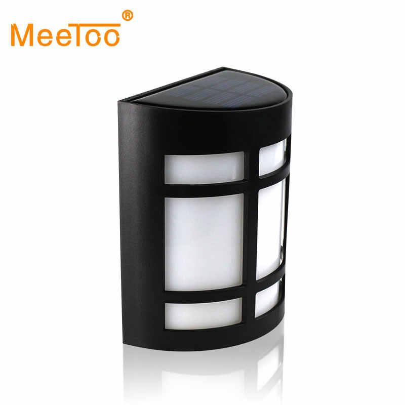 MeeToo солнечная энергетическая лампа, светодиодная лампа, солнечная панель, лампа на солнечной батарее, портативная Светодиодная лампа, лампа для ночника, для путешествий, используется 8 часов, Горячая