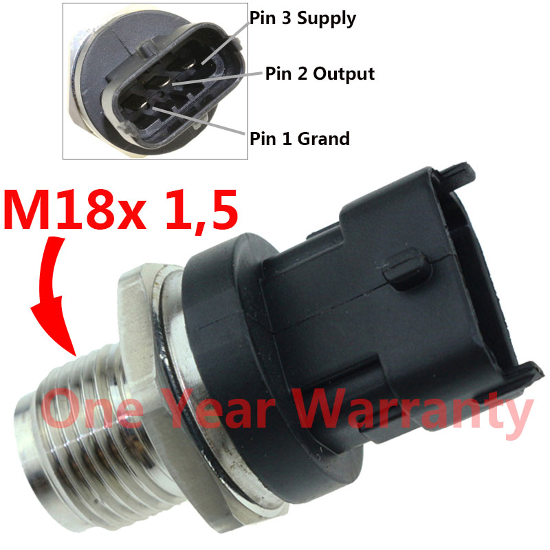 1800 Bar Fuel Rail High Pressure Sensor Common Injection Regulator Sender For RENAULT TRUCKS MASCOTT 0281002534 02810029211800 Bar Fuel Rail High Pressure Sensor Common Injection Regulator Sender For RENAULT TRUCKS MASCOTT 0281002534 0281002921