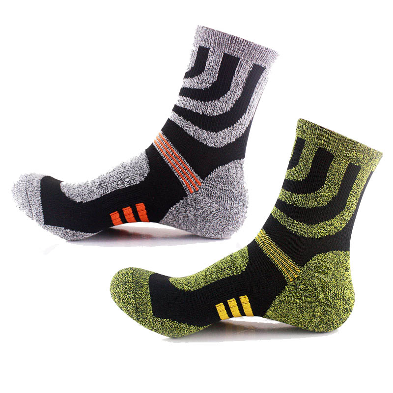 (2Pair/lot)New Style Men CoolMax Socks Male High Quality Cotton Mens Socks Male Winter Thermal Thick Warm Socks Brand Socks