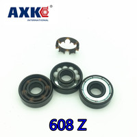 FREE SHIPPING 16PCS SET 608 Z Skate Bearing Swiss Brand Abec11 Hybrid Ceramic ZrO2 Ball Skateboard