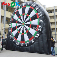 6mH Inflatable Dart Board, Inflatable Soccer Dart Game, Inflatable Football Darts Outdoor Games