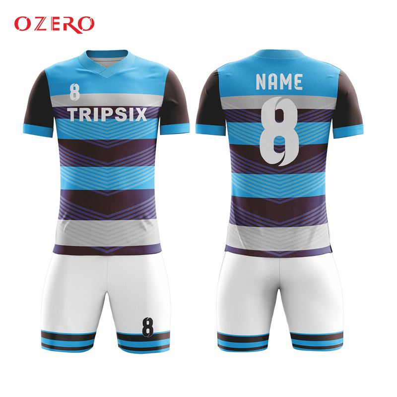 professional soccer jerseys sports clothing sublimation