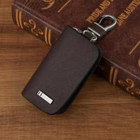 Brown Frost Leather Car Key Wallet Key Ring For Lexus Chevrolet Citroen Ford Cadillac Acura Infiniti