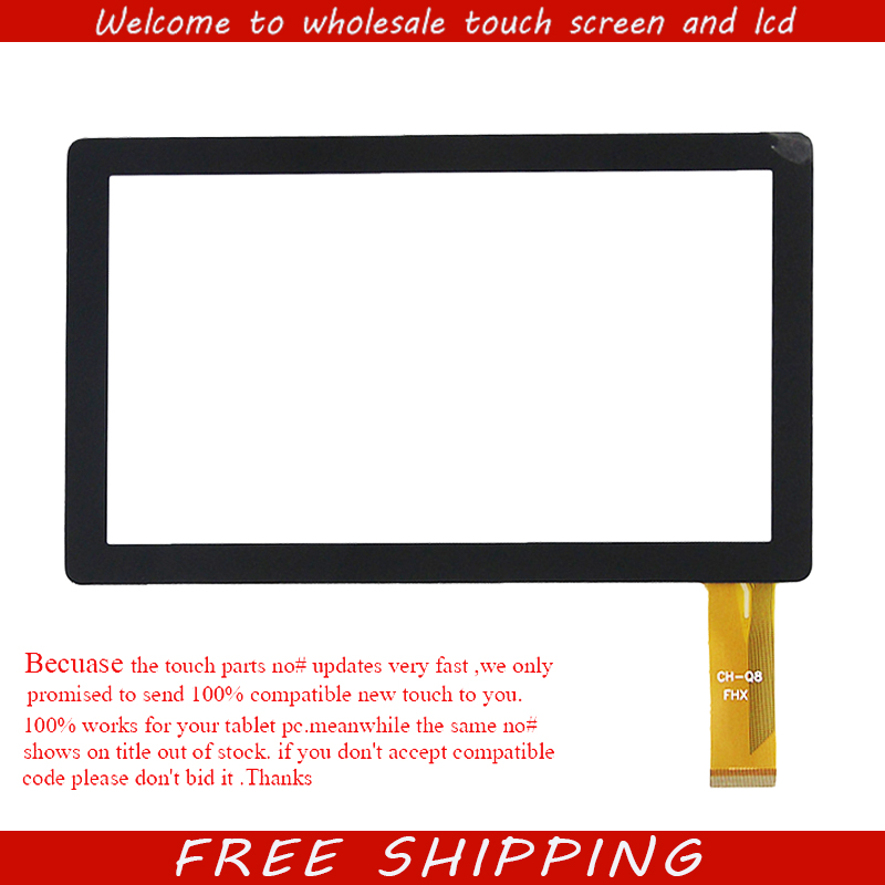 New For 7 Roverpad Air C7 WiFi Tablet Capacitive touch screen panel Digitizer Glass sensor replacement Free Shipping