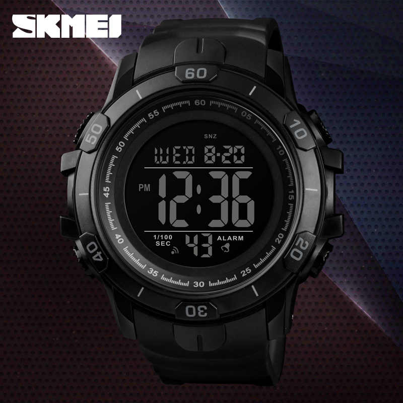SKMEI Men's Watches Outdoor Sports Wristwatches Waterproof  Alarm Clock Digital Watches Military Watch Relogio Masculino