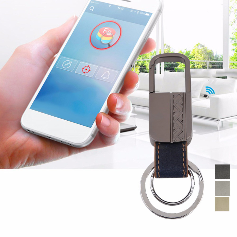 Anti Lost Smart Key Finder Locator Tracker Bluetooth 4.0 Alarm Keychain Keyfinder Tracer Wireless Alarm Search Keys Keychain