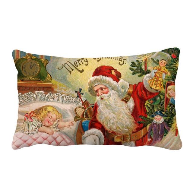 6 stili Buon Decorazioni Di Natale Cuscino caso Divano Wais Cuscini Decorativi C